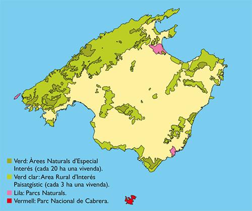 mapa balears