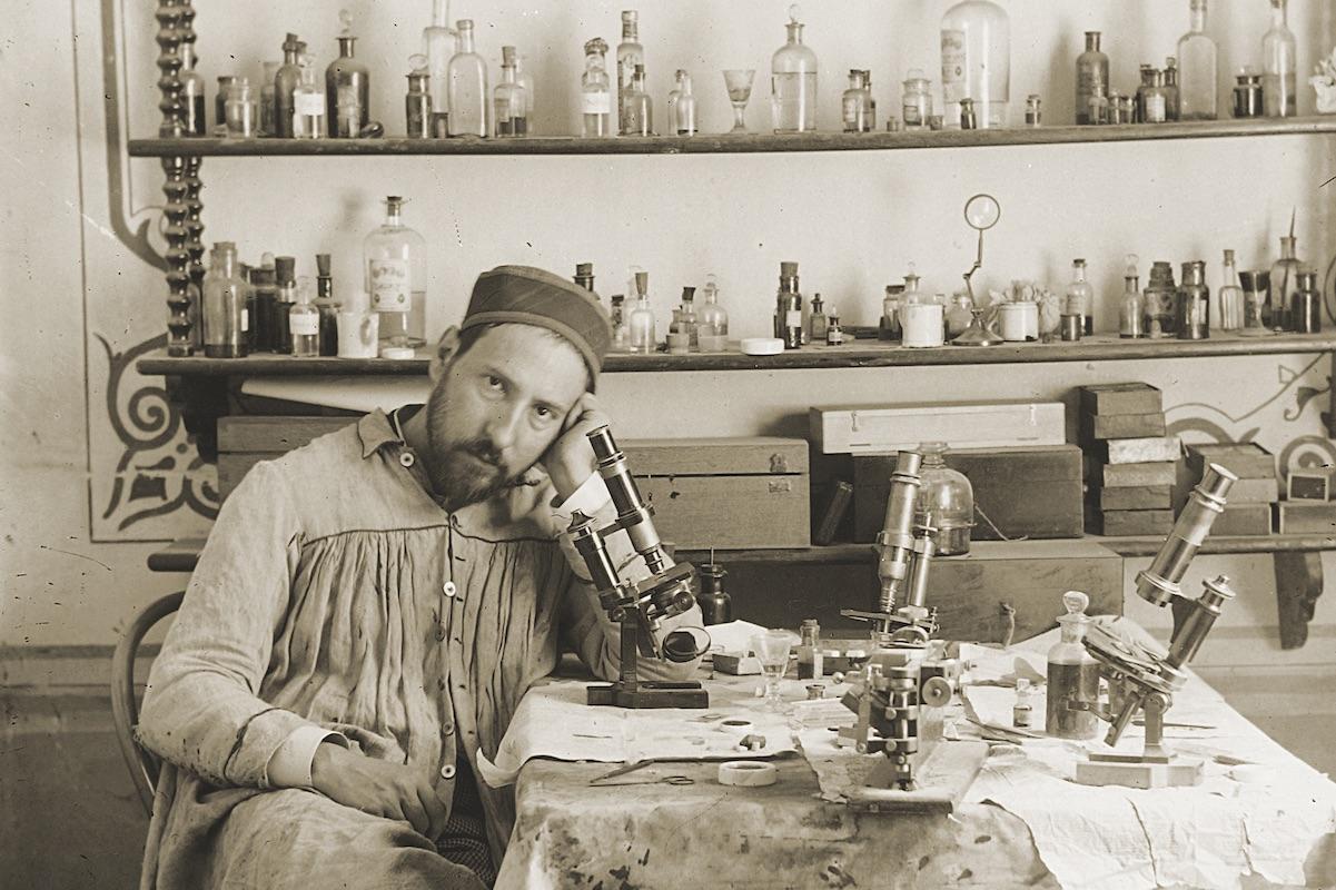 Ramón y Cajal - figura clau de l'edat d'argent de la ciència a Espanya