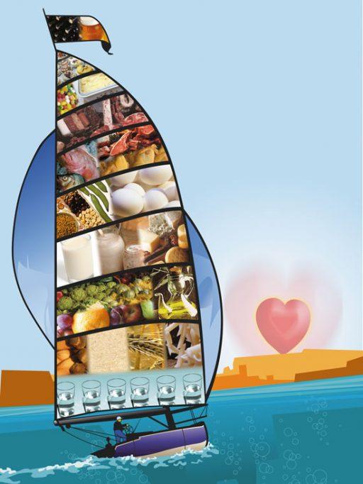 vaixell de l'alimentació