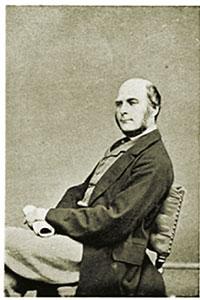 Francis Galton als 42 anys.