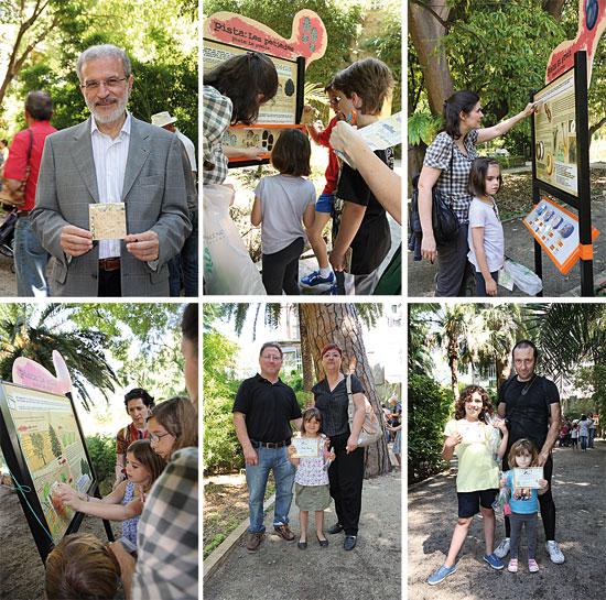 Presentación del juego en el Jardín Botánico