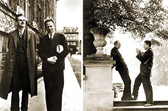 Paul Dirac, Werner Heisenberg y Richard Feynman