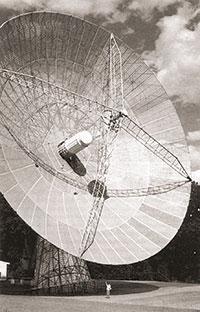 Antena de 25 metres totalment dedicada a SETI a temps complet, a Harvard.