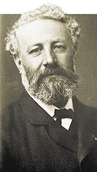 Jules Verne (Nantes, 1828 - Amiens, 1905).