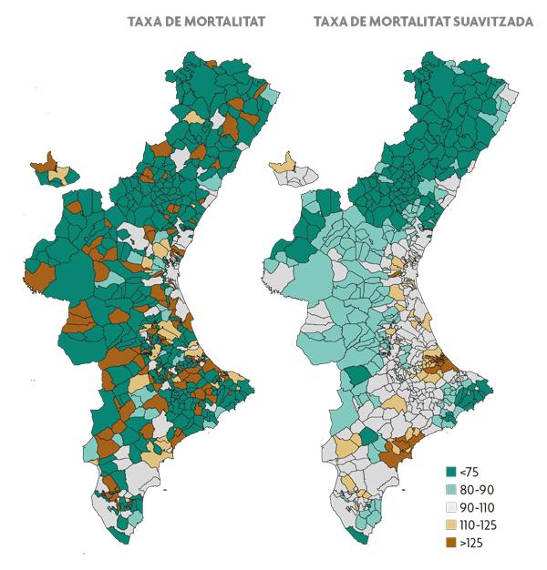 Estimació del risc de mortalitat per càncer de cavitat oral i faringe per als municipis de la Comunitat Valenciana