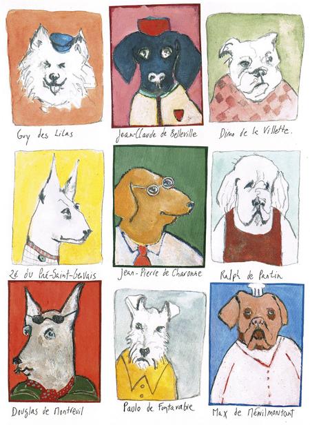 gossos modiano Rue du Soleil