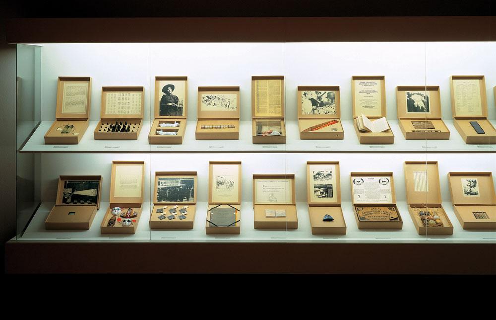 Susan Hiller. Del museu Freud, 1991-1996.