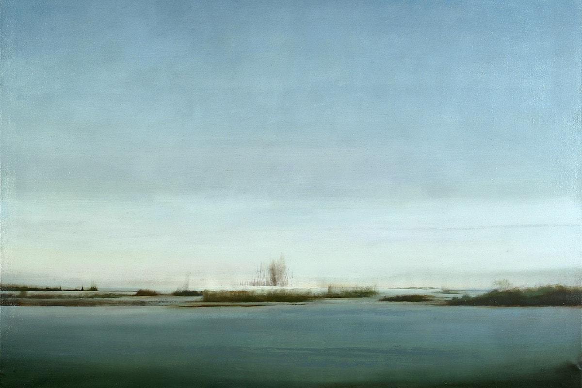 José Saborit. Aproximació a l'Albufera. Hivern, 2000.