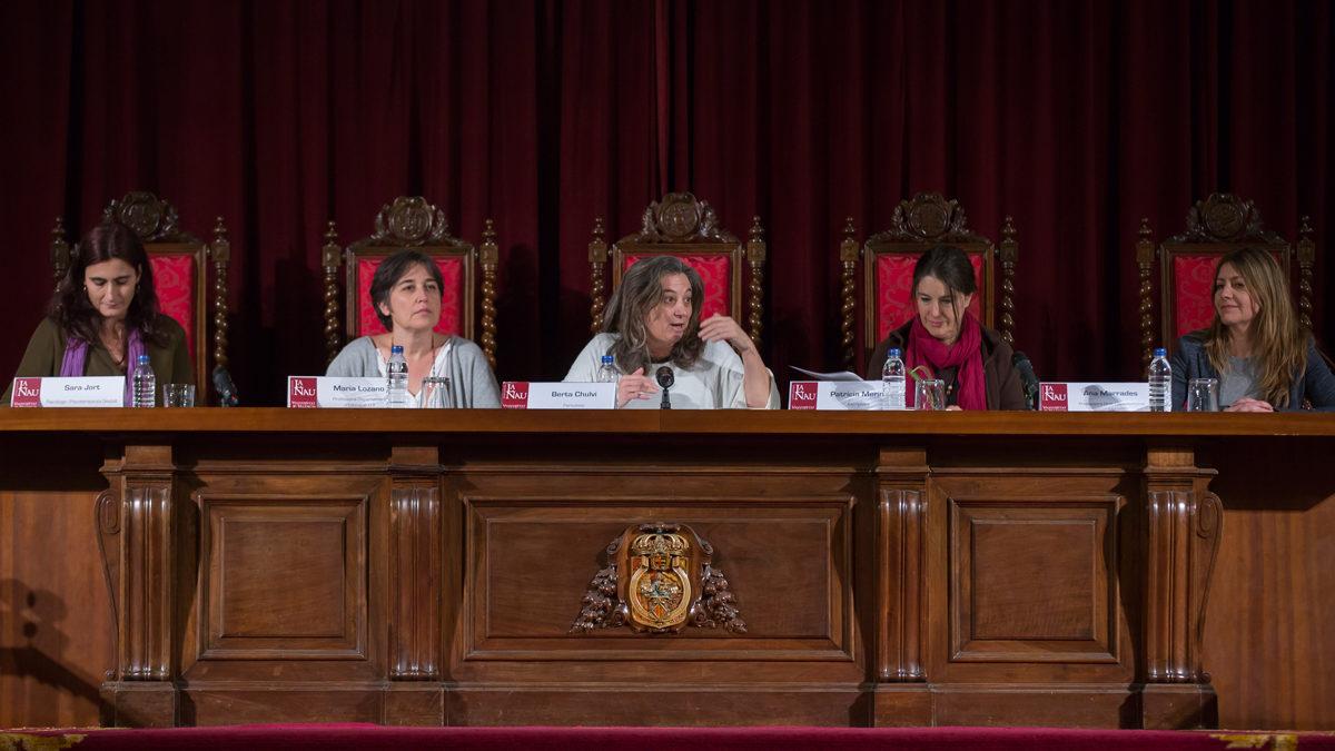 Debat Reflexions feministes sobre la maternitat