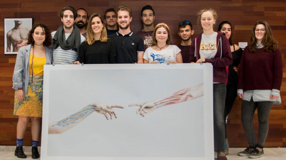 Exposició «BodyPaint Anatòmic» sobre anatomia humana