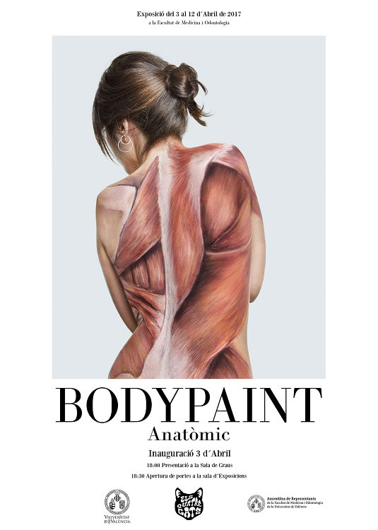 Ciencia y arte para mostrar la anatomía humana