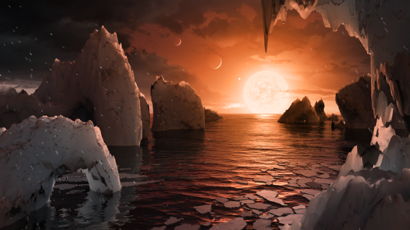 Planet in the Trappist-1 system