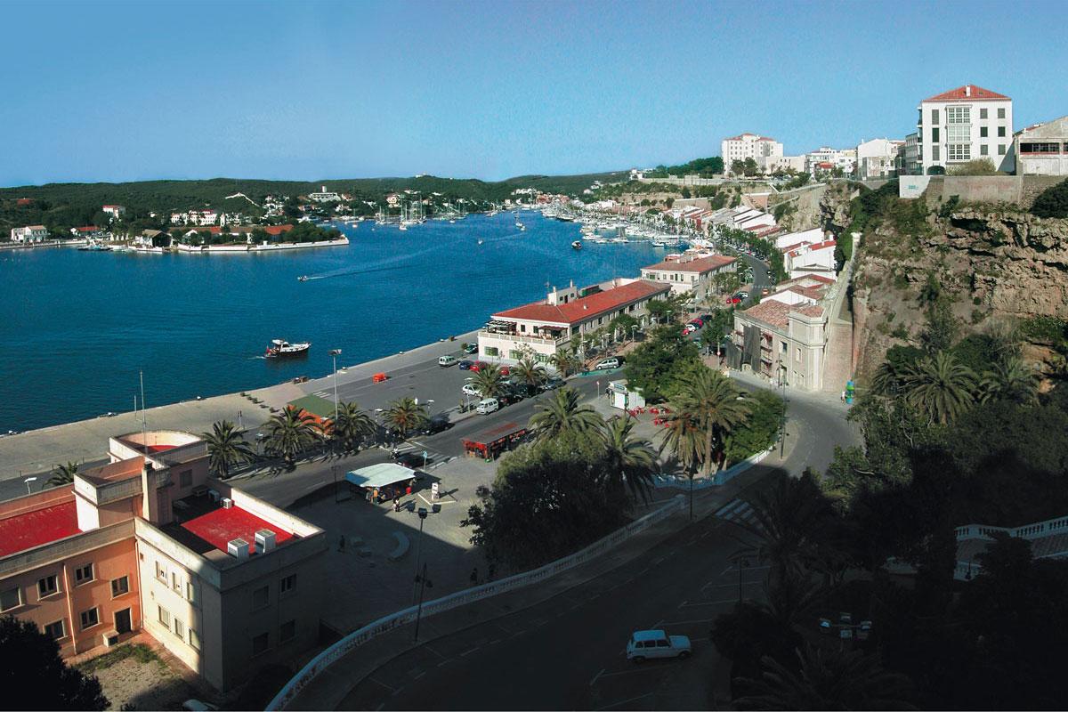 història Menorca