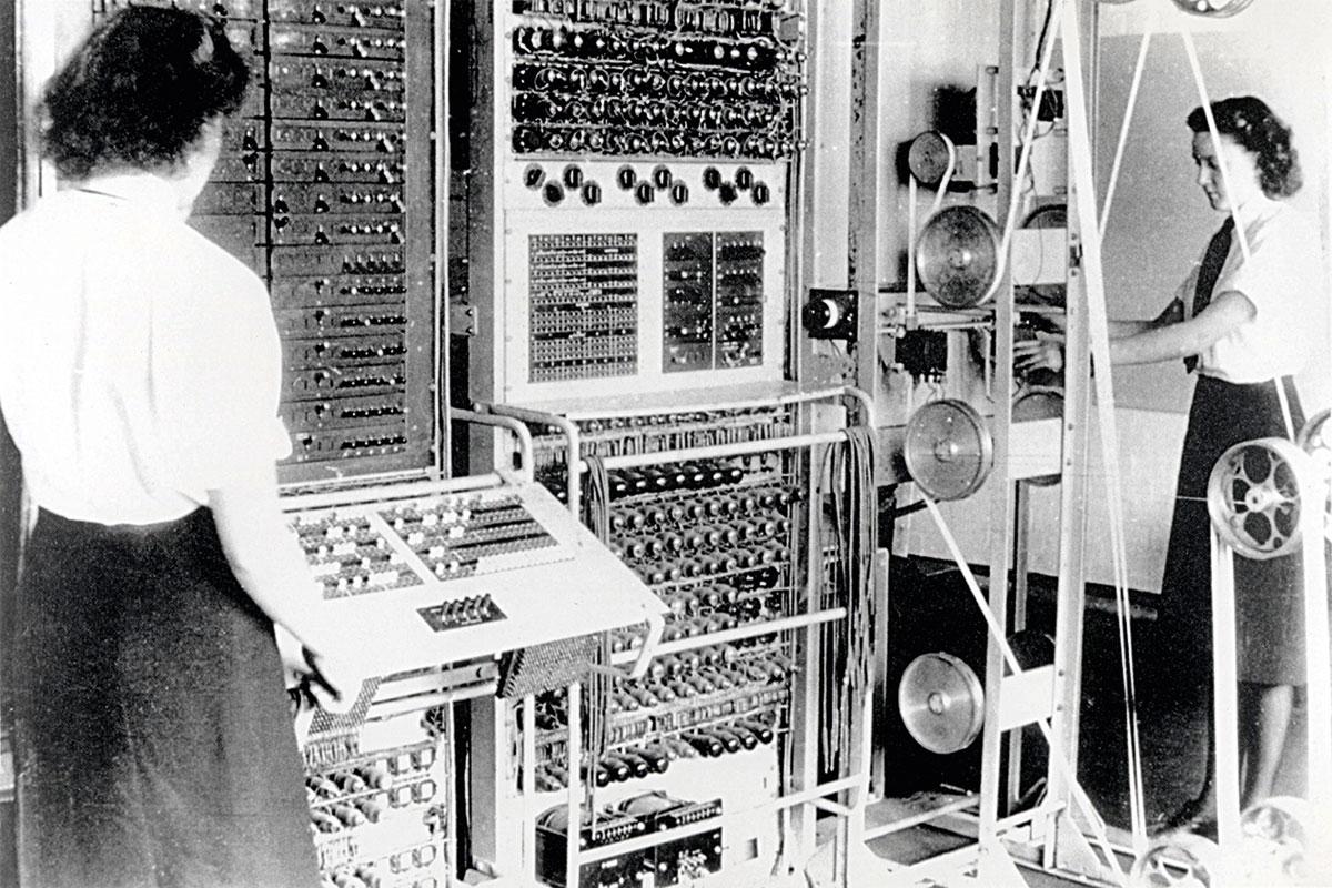 Les desxifradores de codis de Bletchley Park