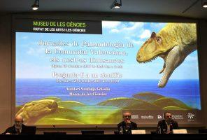 Presentació de les jornades sobre la influència dels dinosaures al segle XXI