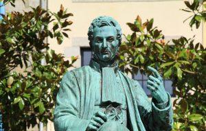 Estàtua de Laënnec. Wikimedia.