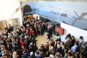 Inauguració del Museu d'Història Natural de la UV