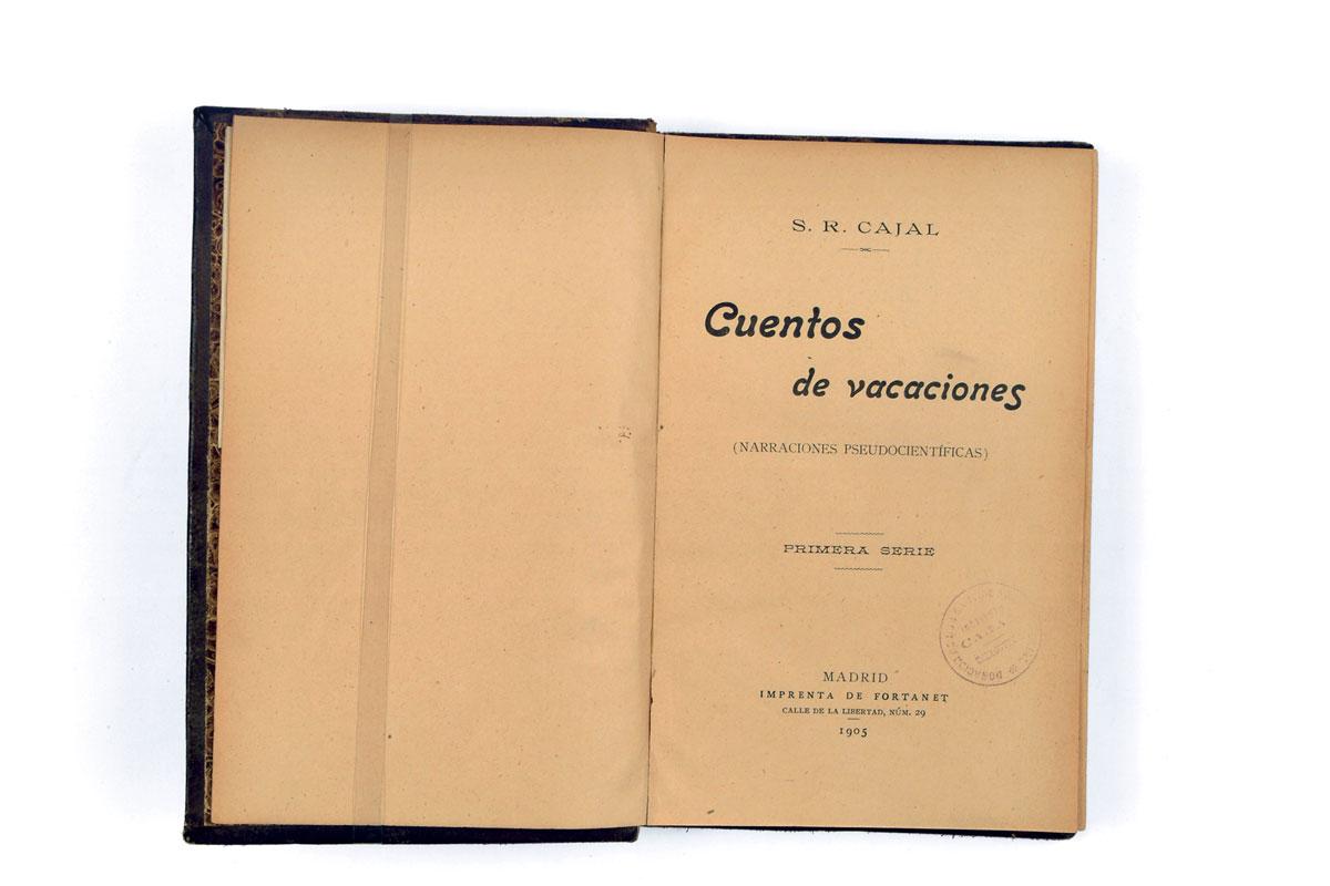 Contes de vacances de Cajal