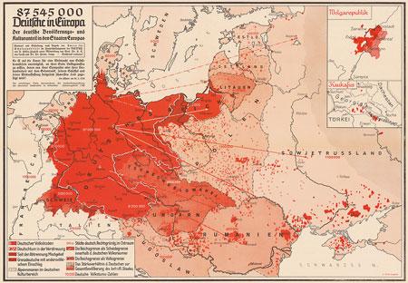 mapa cartògraf nazi Arnold Hillen-Ziegfeld utopia antiurbana