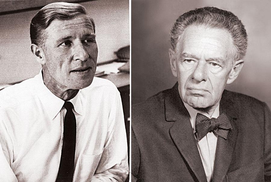 Konrad Bloch i Fritz Lipmann
