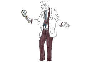 divulgador científic illustracio