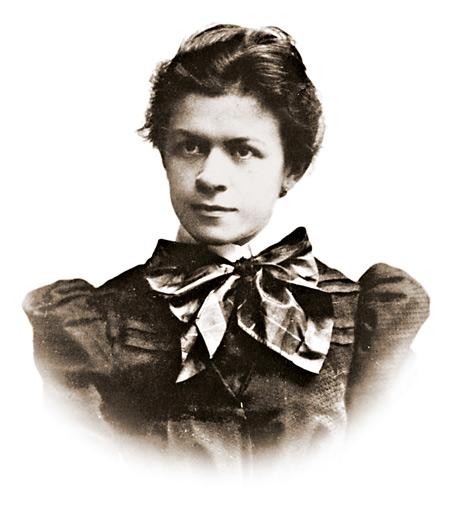 Mileva Maric en 1896
