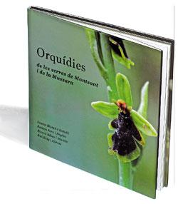 orquídies de les serres de Montsant i de la Mussara portada
