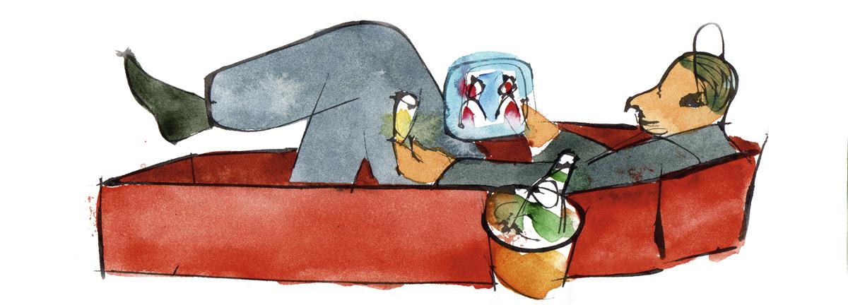 il·lustració perico pastor ser una maquina