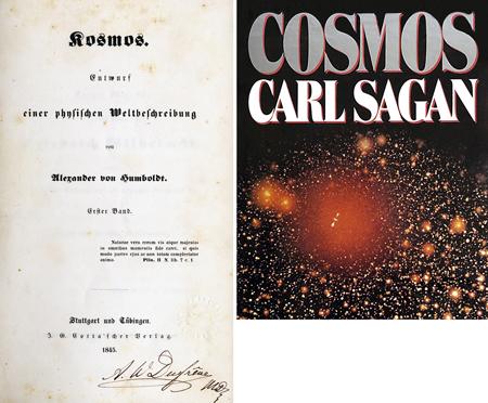 portada llibres cosmos humboldt sagan