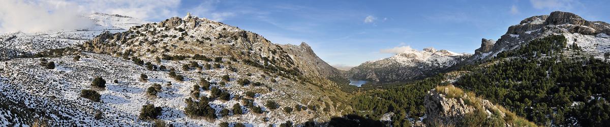panoràmica muntanya