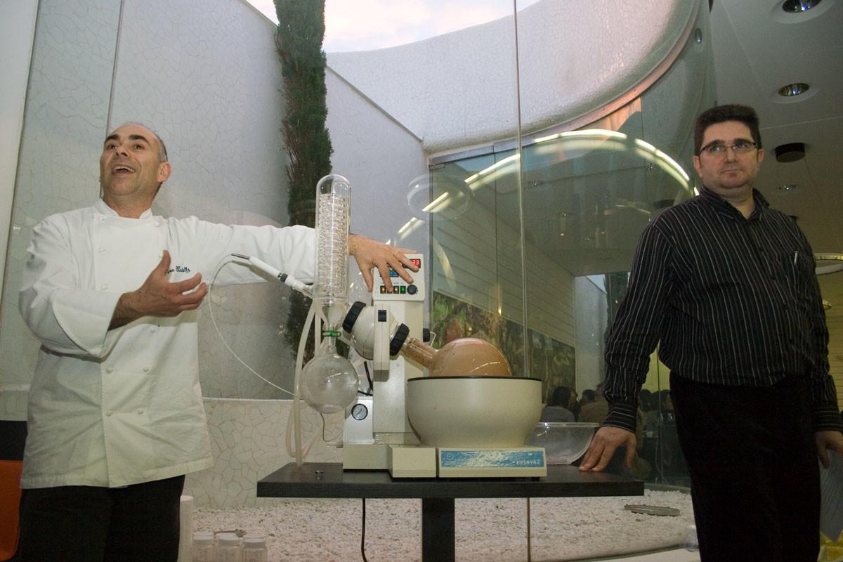 Fernando Sapiña i Pere Castells