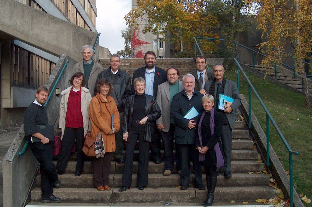 Participants al Anglo-Spanish Colloquium celebrat a la Universty of East Anglia (Regne Unit) en 2003