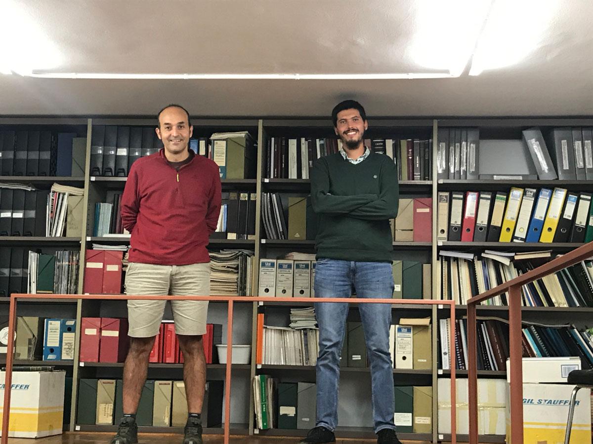 Raül Ramos i Jazel Ouled-Cheikh autors estudi gavians