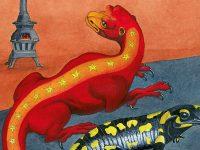 salamandra illustració gran