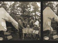 Mariano Ferrer, Jaume Ángel, Pius Font i Quer i Joan-Bautista Aguilar-Amat, possiblement al campament de Hauta-el-Kasdir.