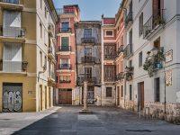 imatge de ciutat vella, a València, buida | hàbits